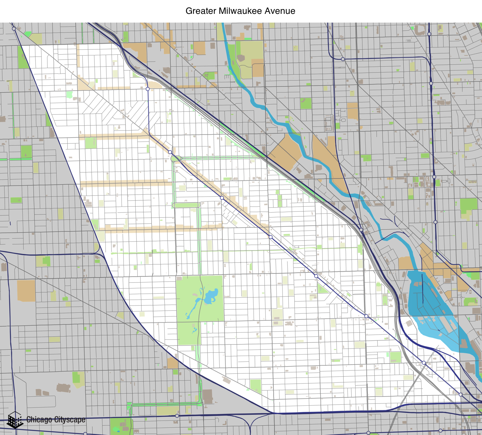 Planning Area (Chicago) - Map of building projects, properties, and ...