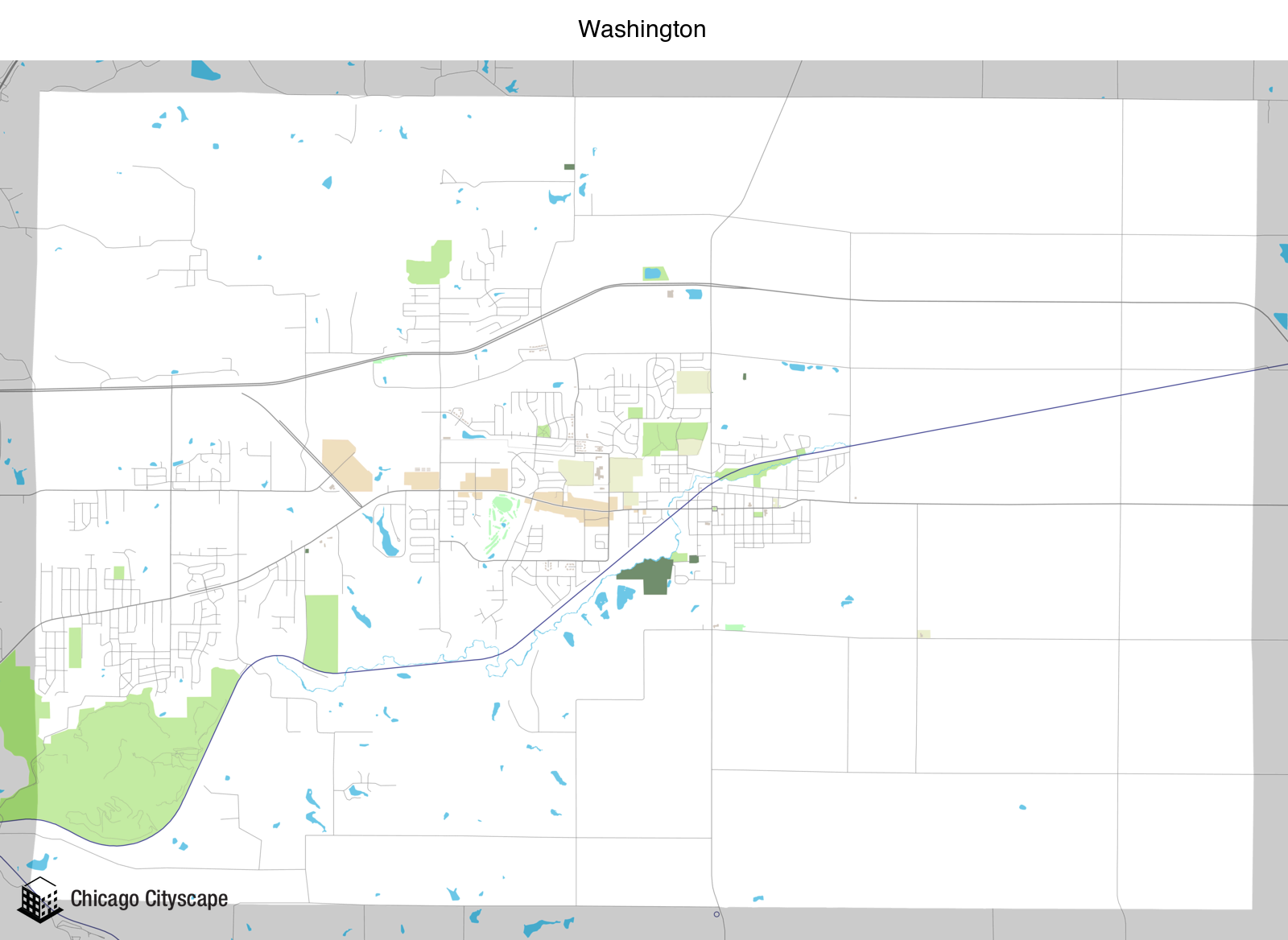 Map Of Washington State With Cities And Towns, Map Of Washington Designed By Chicago Cityscape, Map Of Washington State With Cities And Towns