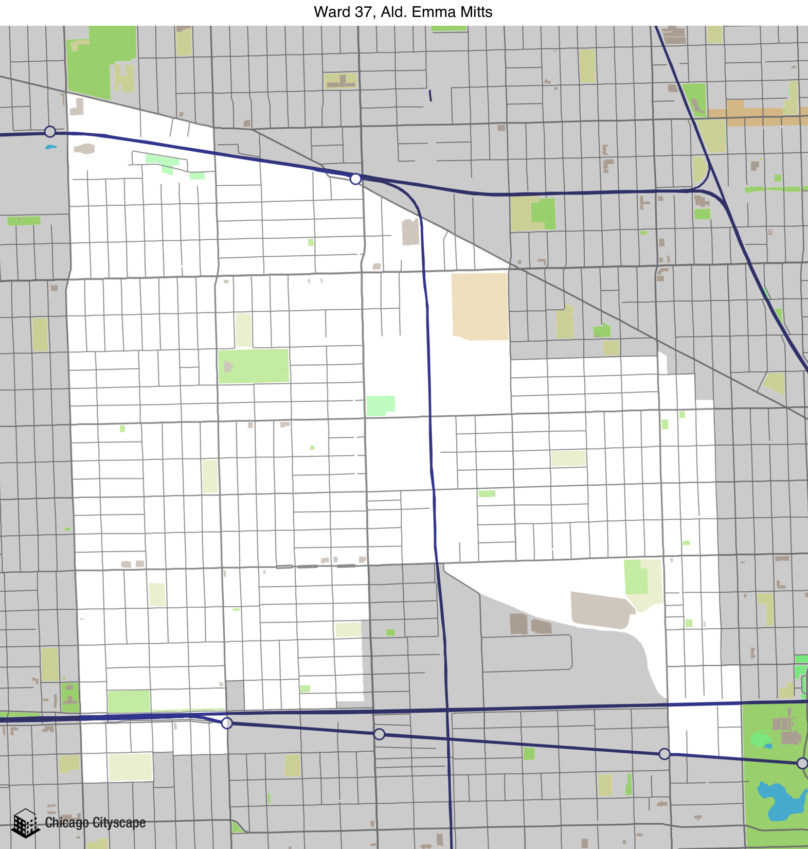 Ward - Map of building projects, properties, and businesses in the ...