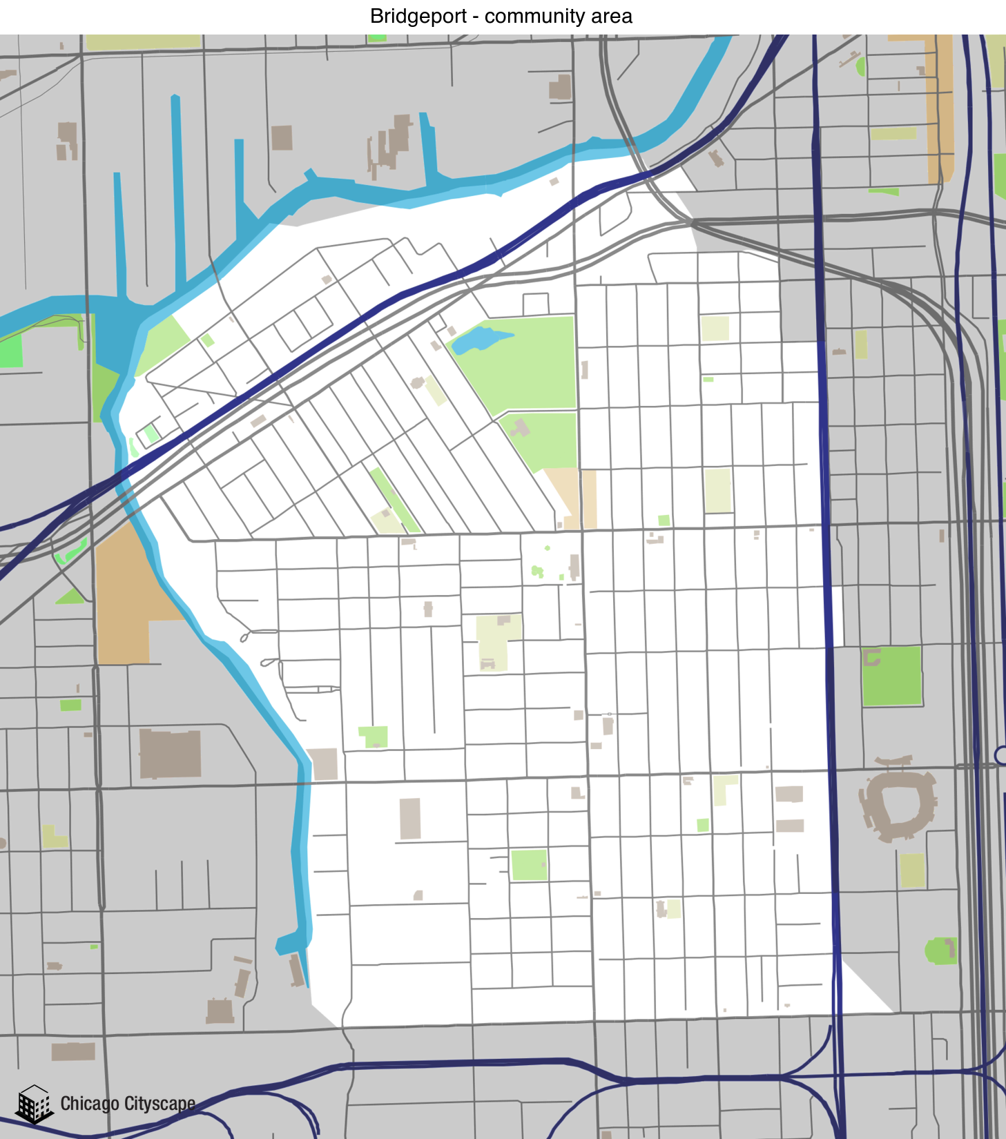Community Area - Map of building projects, properties, and ...